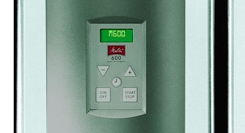 Melitta® 600 - Geïntegreerde schakelklok