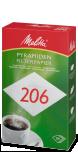 Melitta®-filterpapier PA SF 206 G