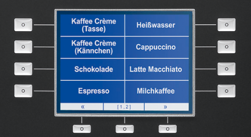 Melitta® cup - grafische display