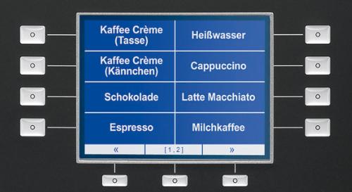 Melitta® cup - grafische display